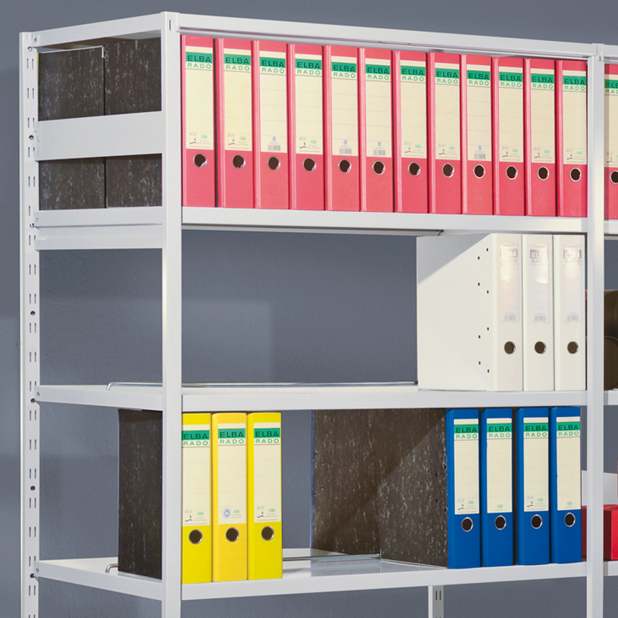 Adjustable Compartment Divider for complete shelfs