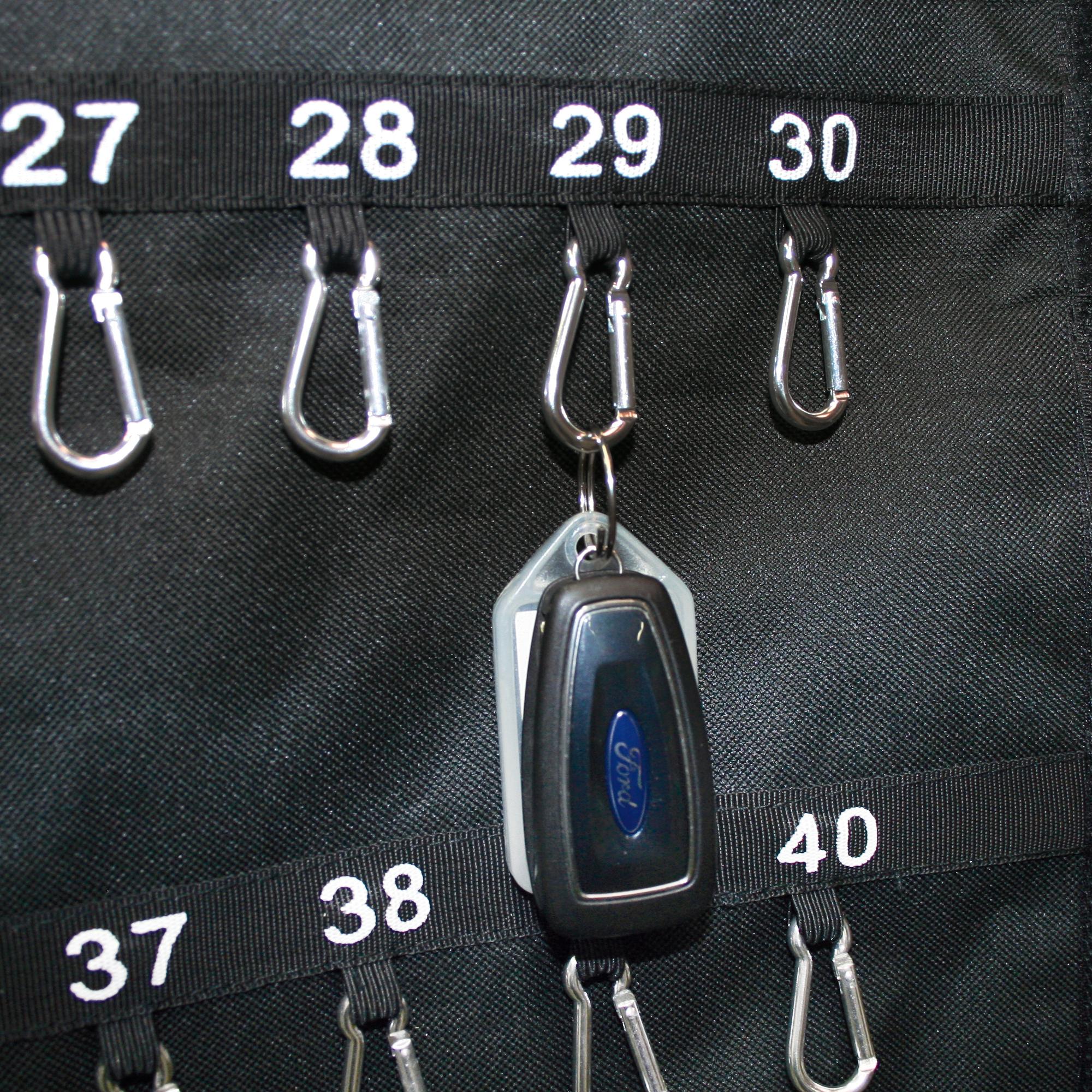 Schlüsseltasche mit 2 Haltegriffen