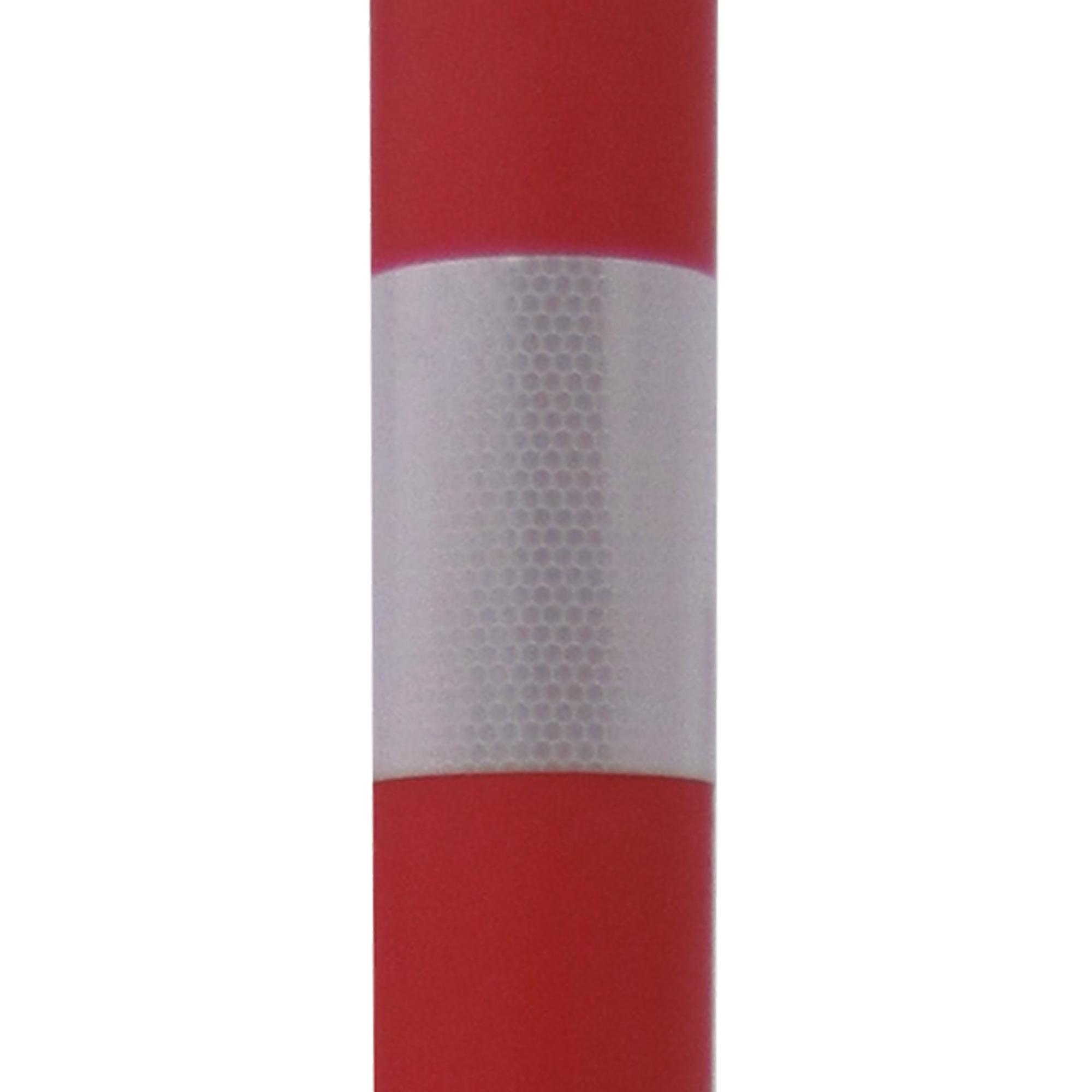 Absperrständer, rot/weiß
