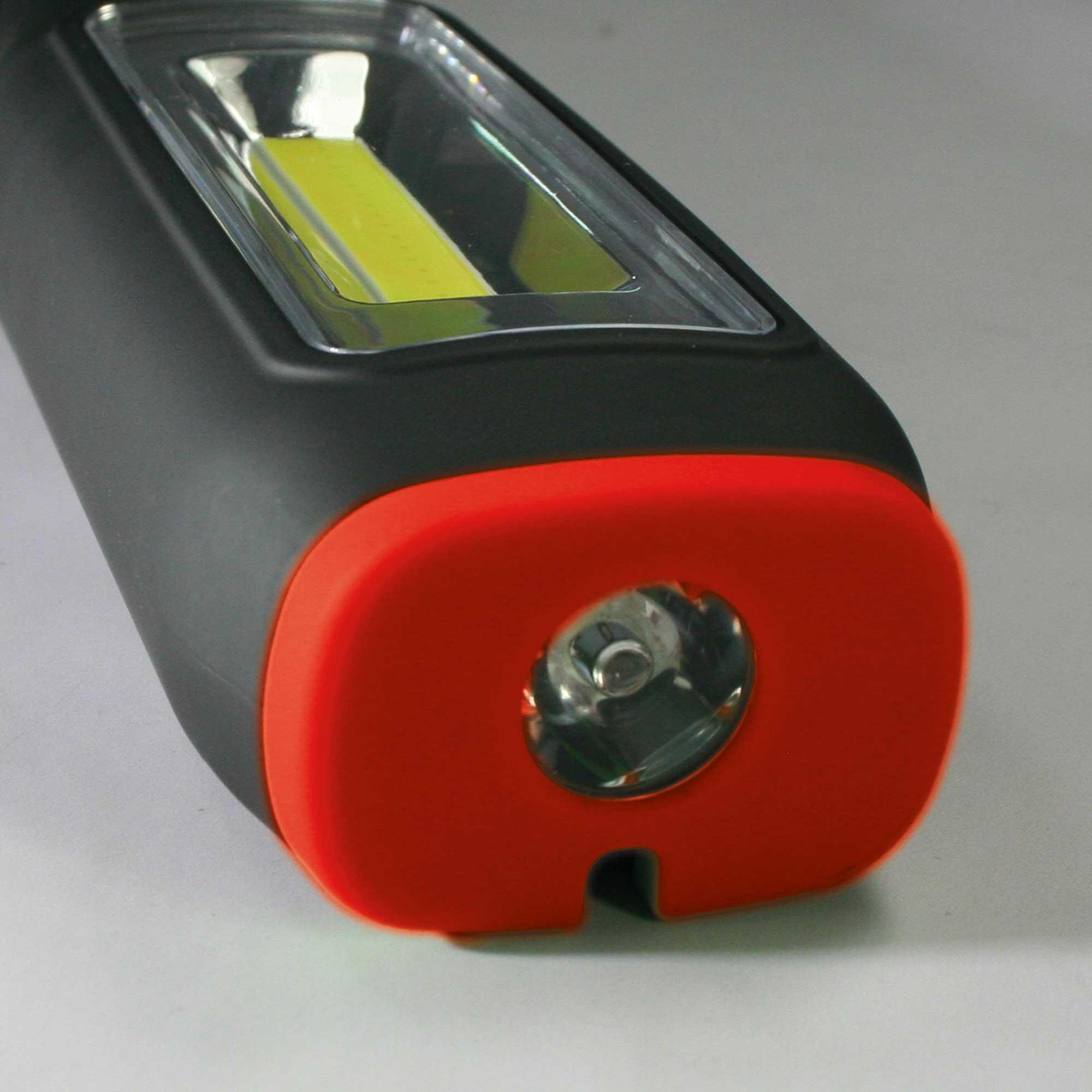 Handlampe 3W COB + 1W LED Arbeitslampe